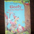 Walt Disney Productions Presents Goofy and the Magic Axe Children's Collectable Book 1982 ISBN 0-394