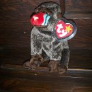 1999 Cheeks Monkey Mint Ty Beanie Baby with Tag Protector MWMT  5-1-99 Retired 12-23-99 New