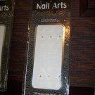 29 ProArt 3d Designer Finger Toe Nail Art Decal Stickers Winter Wedding White Flowers Rhinestones