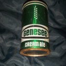Genessee Cream Ale Pull Top Straight Steel Beer Can Top Opened Rochester NY Brewery Vintage