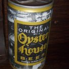 The Famous Original PA Oyster House Crimped Pull Tab Bottom Opened Straight Steel Beer Can