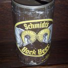 C. Schmidt's and Sons Bock Beer Philadelphia Pa Cleveland Oh Steel Vintage Pull Tab Beer Can