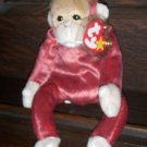1999 Schweetheart The Orangutan Ty Beanie Baby with Tag Protector MWMT Retired
