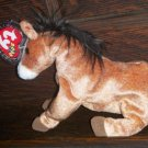 2000 Oats Horse Ty Beanie Baby with Tag Protector MWMT Retired