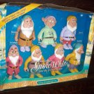 Mattel 7 Snow White Dwarfs Sleepy Happy Doc Bashful Dopey Grumpy Grumpy Gift Set New Mint in Box