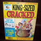 King Size Special Cracked Flip The Faces Book Z Team Game 1984 Comic Magazine