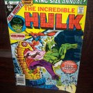 1977 The Incredible Hulk Annual King Sized Doctor Strange Adam Warlock Marvel Comic
