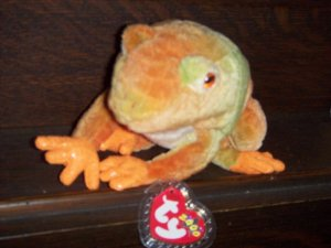 Prince The Frog 2000 Ty Beanie Baby 6th 9th Generation Retired mwmt