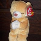 Hope Praying Bear 1999 Ty Beanie Baby mwmt Tag Protector Retired 5th 8th Gen