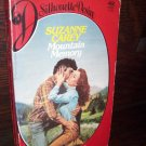 Mountain Memory by Suzanne Carey Silhouette Desire Romance Paperback Book No 92