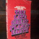 The Late Great Planet Earth by Hal Lindsey Bantam Nonfiction Paperback Book