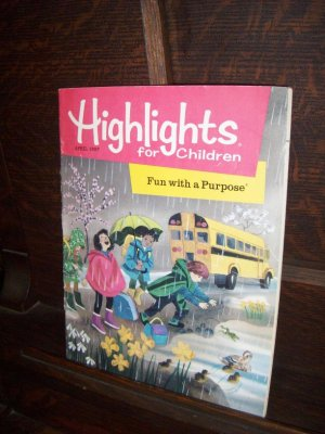 Highlights for Children April 1997 Fun with a Purpose Vol 52 546 Educational Magazine