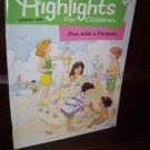 Highlights for Children August 1998 Fun with a Purpose Volume 53 562 Educational Magazine