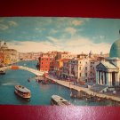 Vintage Italian Venezia The Bridge of the Scalzi Unused Chrome Postcard