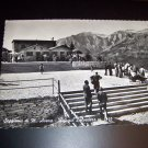 Vintage Italian Veneta Chairlift of M Oat Lookout Shelter Seggiovia di M. Avena Photo Postcard
