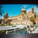Vintage 1977 Italian Cathedral Palermo Kodak Chrome Postcard 200 Lire Green Italy Stamp