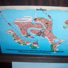 Venice by Vaporetto It's Wonderful Vintage Chrome Map International Postcard CB Station Tango Tango