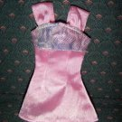 Barbie Fashion Pink Iridescent Mini Dress