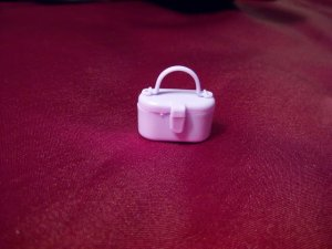 Barbie Size Light Lilac Purple Purse Hand Bag Accessory