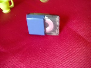 Barbie Bratz Blythe Size Blue Portable Toy CD Player Mini