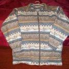 Southwestern Style Haband Ladies Size M Warm Jacket.