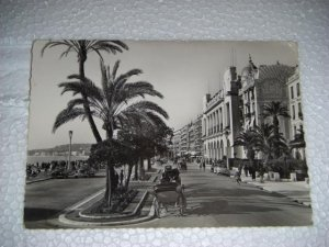 1959 Niece La Promenade des Anglasssis Palais French International Postcard