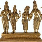 Lord Shiva Accepts Devi Parvati's Hand in Presence of Goddess Lakshmi and Lord Vishnu