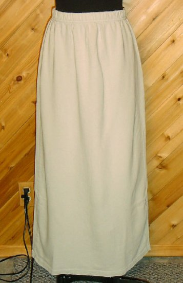 Chico's Light Sage Green Cotton Skirt 1 S 8/10 CHICOS