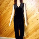 Chico's 2pc Velvet Stretch SL Top Pants 0 S 4/6 CHICOS