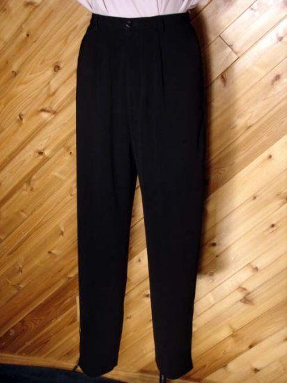 Chico's PE Black Taper Pant Casual/Dress 0 S 4/6 CHICOS
