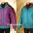 Columbia Women Reversible Purple Teal Jacket M Outerwear