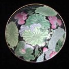 Beautiful Oriental Flowers Bowl Dish Excellent Condition