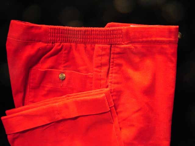 Retro Gentlemens Quarters Mens Corduroy pants 39/29