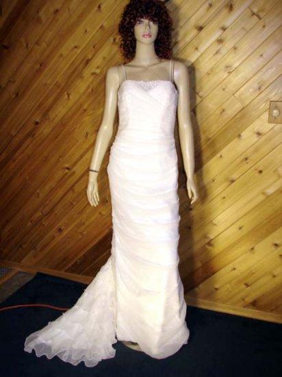 Zurc Impressions Beaded Bridal Wedding Dress Gown 6/8