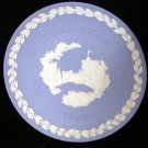 Wedgwood England Christmas 1969 Plate Windsor Castle