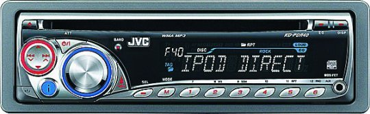 Buy JVC Car Audio - Jvc Car Audio CD Cdr Mp3 Ipod Receiver W Aux Model: Jvc-kdpdr40