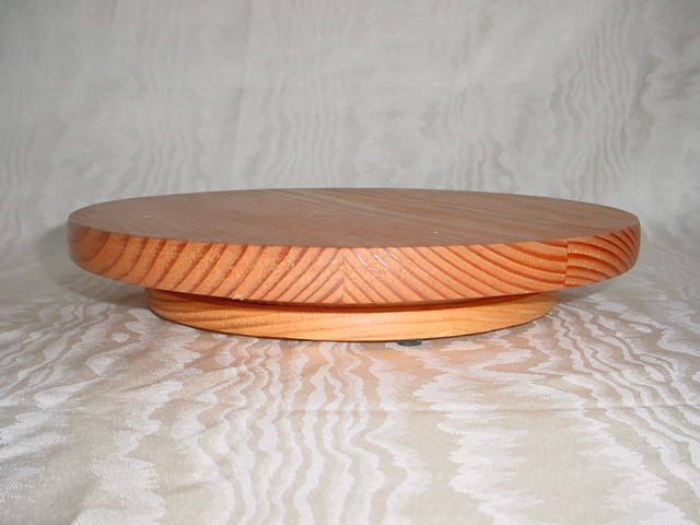 Wooden Lazy Susan Hot Mat LARGE