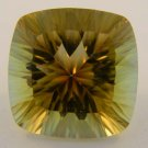 11.41ct Cushion Cut Concave Golden Mystic Topaz $741.65