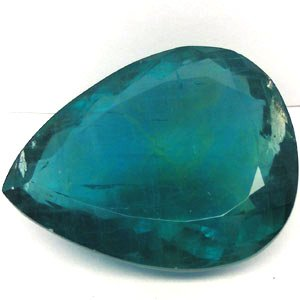 379.00CT MUSEUM!SIZE!PEAR GREEN BLUE AFGANISTAN FLUORITE