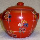 Vintage Pottery Cookie Jar