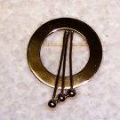 Vintage Goldtone Brooch