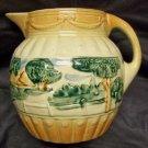 Roseville Pottery Landscape Pitcher
