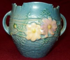 Roseville Pottery Cosmos Jardiniere