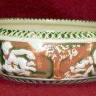 Roseville Pottery Donatello Garden Dish # 54