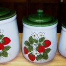 McCoy Pottery, Strawberry Country Canisters