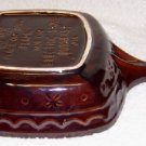 Hull Pottery, Marcrest Square Skillet/Pan