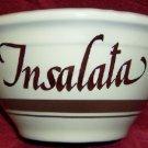 McCoy Pottery Pasta Corner  Bowl