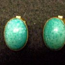 Vintage Turquoise Clip-on Earrings