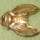 Brooch, Monet, Bee