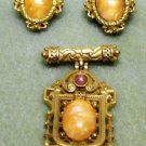 Brooch & Earrings Set